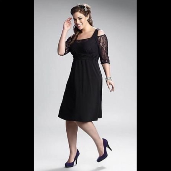 2f4649234ae Kiyonna London Lace Dress Black - 5X (30 32) - NWT